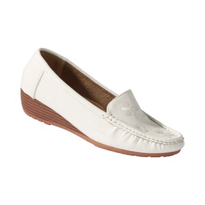 wonderWALKMocassins confort  blanc 1