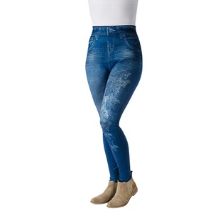 Slim-Leggings  Motiv Blatt 1