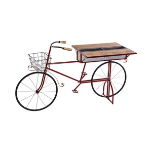 Plantenbakfiets  rood 1