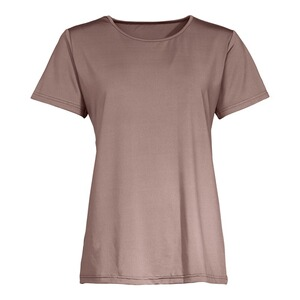 "Damenshirt ""Basic""  taupe"