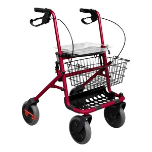 "REHAFORUM MEDICAL  Rollator ""Vital""  rot"