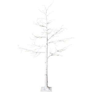 LED-Tobby Tree Birch, weiß  150 CM 1