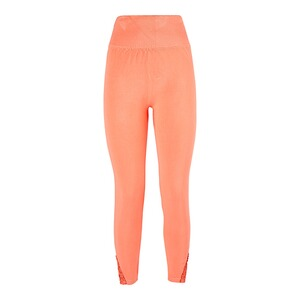 Leggings mit Spitzeneinsatz  orange