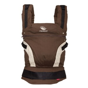 MANDUCA® FIRST Babytrage, 3 Tragepositionen  brown