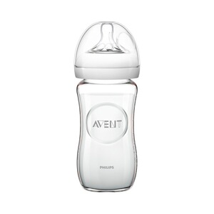 PHILIPS AVENT  Le biberon en verre Natural 240 ml
