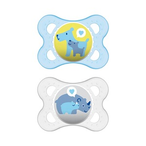 MAM  2er-Pack Schnuller Original Latex 0-6M  blau