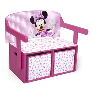 DELTA CHILDREN MINNIE MOUSE Kindersitzbank 3 in 1
