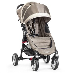 BABYJOGGER  City Mini 4 Rad Buggy mit Liegefunktion  Sand / Stone
