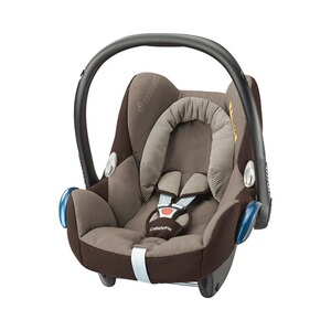 MAXI-COSI CABRIOFIX Babyschale Design 2017  earth brown