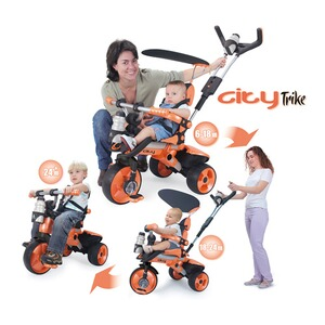 INJUSA  Dreirad City 4-in-1