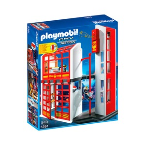 PLAYMOBIL® CITY ACTION 5361 Feuerwehrstation mit Alarm