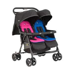 JOIE  aire™ twin Zwillingswagen  pink and blue