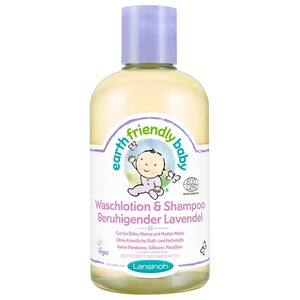 LANSINOH EARTH FRIENDLY BABY Waschlotion & Shampoo Beruhigender Lavendel 250 ml