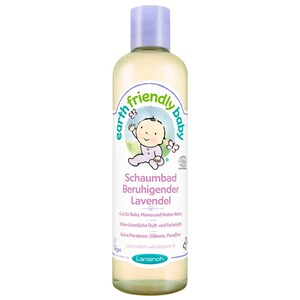 LANSINOH EARTH FRIENDLY BABY Schaumbad Beruhigender Lavendel 300 ml