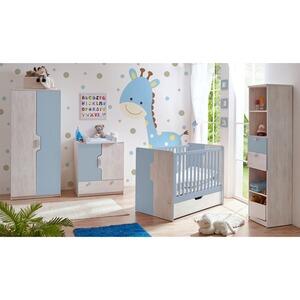 Babyzimmer Nino Weiß Blau