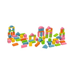 HEROS  Bunte Holzbausteine Happy Colours 75