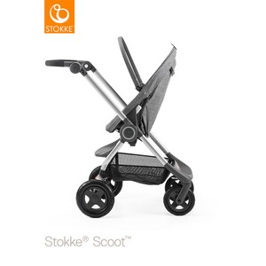 STOKKE® SCOOT V2 Kinderwagen Design 2017  black melange