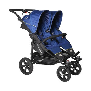 TFK  Twin Trail Zwillingswagen  Twilight Blue