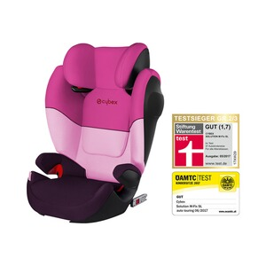 CYBEX SILVER Solution M-Fix SL Kindersitz Design 2017  Purple Rain