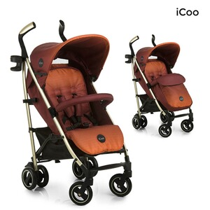 ICOO  Pace Buggy mit Liegefunktion  mocca