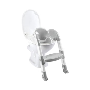 FUNNY  Toiletten-Trainer Kiddyloo  Cool grey/White