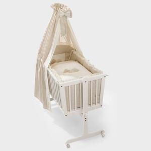 alvi wiege mit ausstattung elefant 40x90 cm online kaufen baby walz. Black Bedroom Furniture Sets. Home Design Ideas