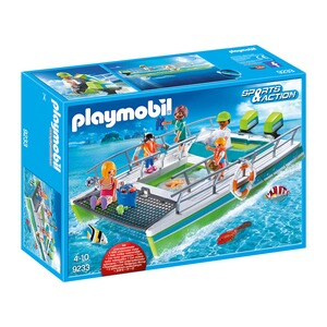 PLAYMOBIL® SPORTS & ACTION 9233 Glasbodenboot mit Unterwassermotor