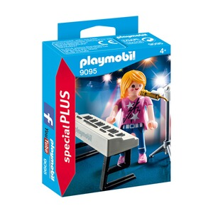 PLAYMOBIL® SPEZIAL PLUS 9095 Sängerin am Keyboard