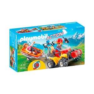 PLAYMOBIL® ACTION 9130 Bergretter-Quad