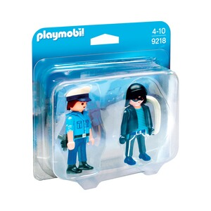 PLAYMOBIL® CITY ACTION 9218 Duo Pack Polizist und Langfinger