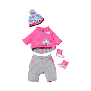 ZAPF BABY BORN Puppen Outfit Winter-Set Deluxe Play&Fun