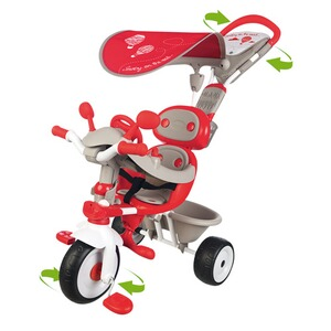 SMOBY  Le tricycle Baby Driver Confort 4 en 1