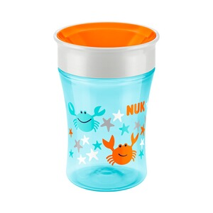 NUK  Trinklernbecher Magic Cup 230ml  blau/orange