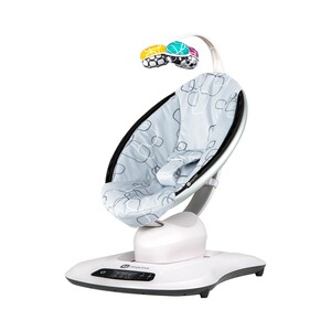 4MOMS MAMAROO 4 Babywippe 3D  Silver Plush