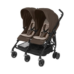 MAXI-COSI DANA FOR 2 Zwillings- und Geschwisterbuggy Design 2018  Nomad Brown