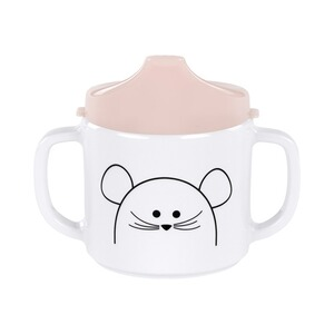 LÄSSIG 4KIDS Schnabeltasse Little Chums  Mouse