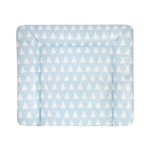 ZÖLLNER  Wickelauflage Softy75x85 cm  Triangel blue
