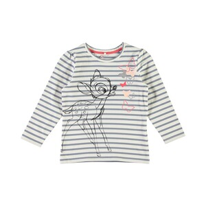 NAME IT  T-shirt rayé à manches longues Bambi
