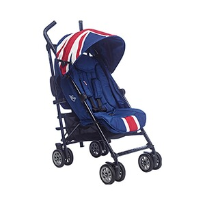 EASYWALKER MINI Buggy mit Liegefunktion  Union Jack Classic
