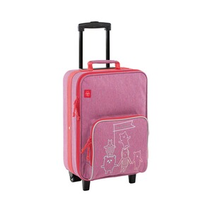 LÄSSIG  Kindertrolley About Friends  mélange pink
