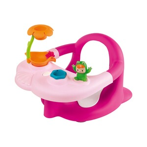 SMOBY COTOONS Baby-Badesitz und Activity Tablett 2 in 1  rosa
