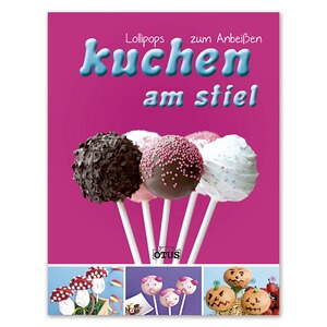 Backbuch-Kuchen am Stiel