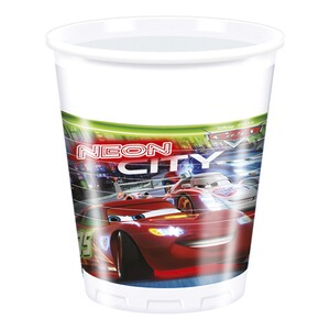 DISNEY CARS 8er-Pack Partybecher Cars