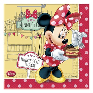 MINNIE MOUSE Servietten Minnie Mouse