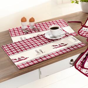 vivaDOMO®  Ensemble de cuisine « Ferme »  Sets de table
