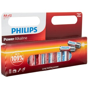 Philips Powerlife Batterien AA, 12 Stück 1