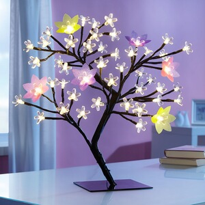 Arbre à LED « saisons »