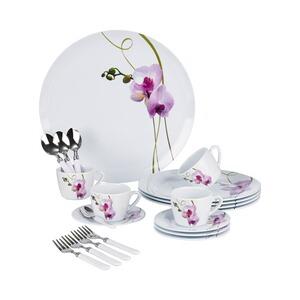 kaffee service orchidee 20 teile online kaufen die. Black Bedroom Furniture Sets. Home Design Ideas