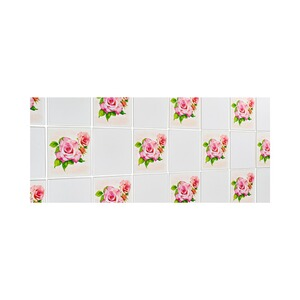Lot de stickers « Roses de rêve », 12 stickers