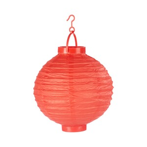 LED-Papier-Lampion  rot
